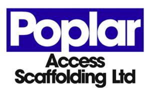 Poplar Access Scaffolding Retina Logo